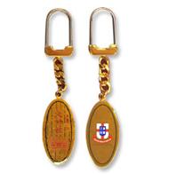 东华三院文物馆纪念品 ─ 椭圆型匙扣