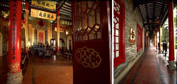 东华三院文物馆大堂及千步廊