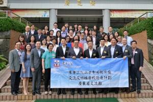 交流团成员探访广东省多所小学,进行多元化的交流活动。