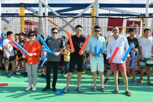 东华三院星梦邮轮慈善之旅节目丰富,让参与善长欢度了三日两夜的海上旅程。