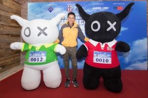 图六为艺人马德钟先生及「Andox&黑仔」为是次活动的大使。