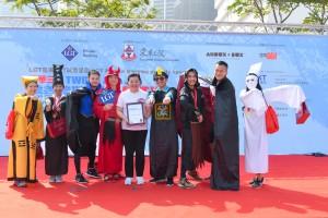 图五及六为参赛者以别出心裁的创意服饰竞逐「最佳造型奬」,为整个赛事增添不少趣味性。