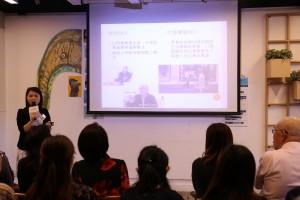 东华三院圆满人生服务经理周淑娟女士介绍关注「脑」朋友计划。