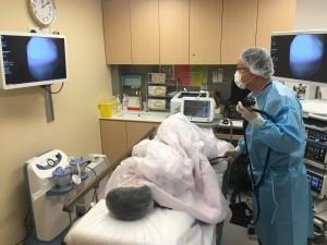 图三:东华三院内视镜中心为市民提供大肠癌筛查服务,唤起市民对大肠癌的关注,推广「预防胜于治疗」的概念。